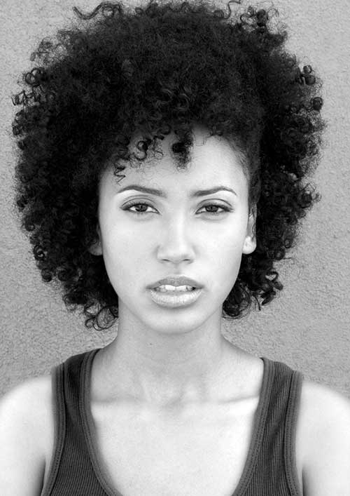 Cute-Short-Natural-Afro-Haircut-for-Girls Cute Short Natural Hairstyles