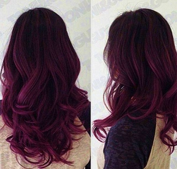 Dark-Purple-Ombre-Hair-Color-Idea Hottest Ombre Hair Color Ideas for 2019 – (Short, Medium, Long Hair)