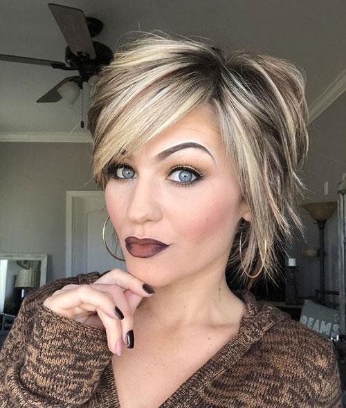 Easy-Short-Haircut Ideas of Cute Easy Hairstyles for Short Hair