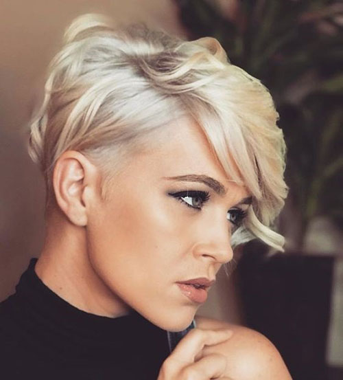 Easy-Short-Hairstyle Best Sassy Pixie Cuts 2019