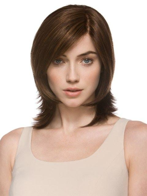 Elongated-layered-bob Hypnotic Short Hairstyles for Women with Square Faces