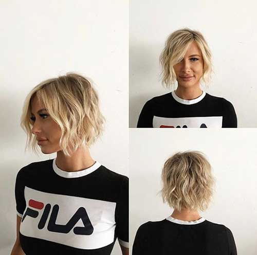Fine-Wavy-Hair Short Wavy Hairstyles for Women with Style