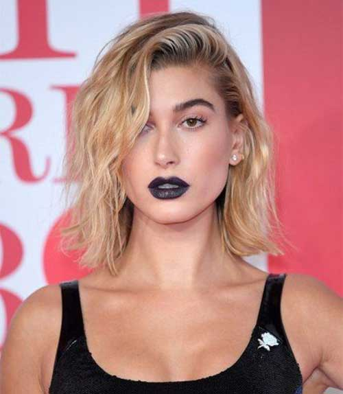 Hailey-Baldwin-Cool-Hair Hailey Baldwin Short Hair 2019