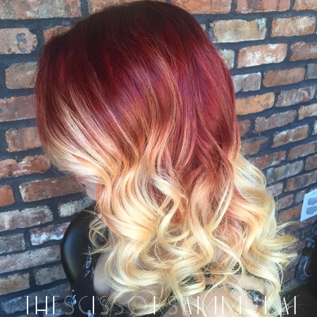 Hottest-Ombre-Hair-Color-Ideas-07 Hottest Ombre Hair Color Ideas for 2019 – (Short, Medium, Long Hair)