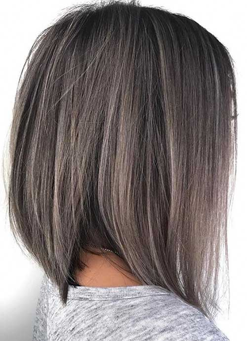 Inverted-Bob-Cut Best Short Hairstyle Ideas 2019