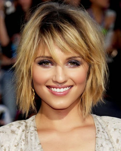 Long-asymmetrical-bob Hypnotic Short Hairstyles for Women with Square Faces
