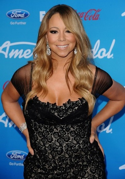 Mariah-Carey-Long-Wavy-Hairstyle-for-Summer-2013 Popular Haircuts for Summer Hairstyles 2019