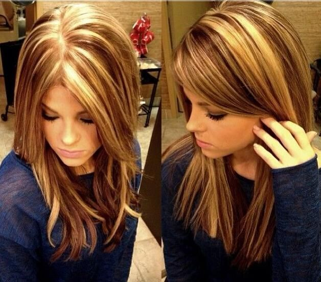 Medium-Hairstyle-with-Highlights Wonderful Medium Hairstyles for 2019