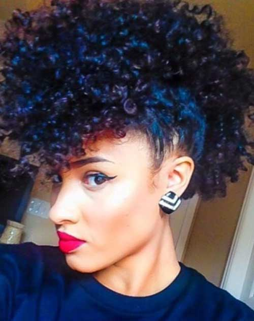 Natural-Curly Best Short Curly Weave Hairstyles
