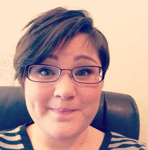Pixie-Haircut-for-Round-Fat-Faces-and-Glasses Pretty Short Haircuts for Chubby Round Face