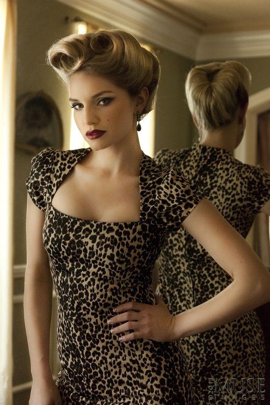 Retro-Updo-Hairstyle Elegant Retro Hairstyles 2019 – Vintage Hairstyles for Women