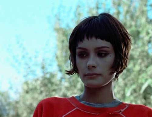 Shannyn-Sossamon Most Beloved Short Haircuts with Bangs
