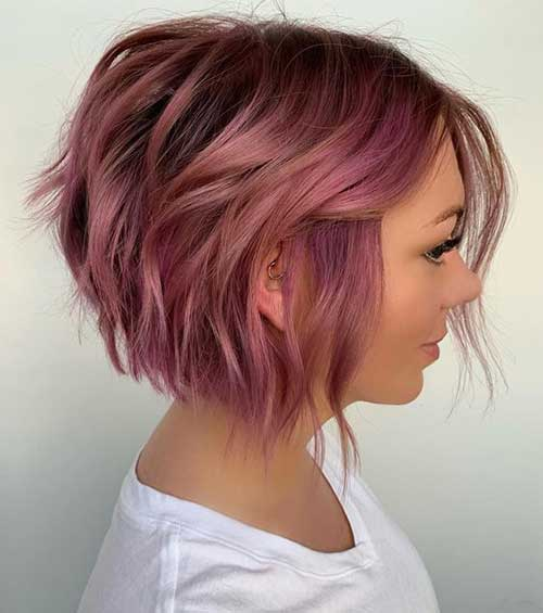 Short-Haircut-for-Wavy-Hair Short Wavy Hairstyles for Women with Style