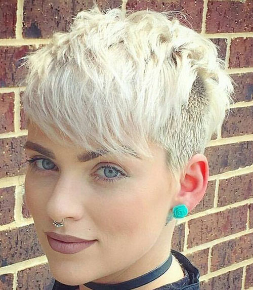Short-Pixie-Hairstyle Best Sassy Pixie Cuts 2019