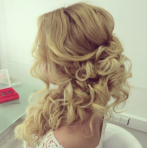Soft-wavy-wedding-hairstyle-for-long-hair Romantic Wedding Hairstyles for 2019