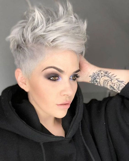 Trendy-Short-Hairstyle Best Sassy Pixie Cuts 2019