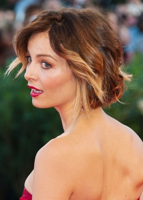 Violante-Placido-Short-Curly-Hairstyle-for-Summer Popular Haircuts for Summer Hairstyles 2019