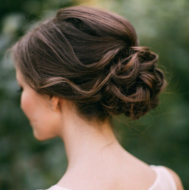 Wedding-Hairstyles-16 Romantic Wedding Hairstyles for 2019