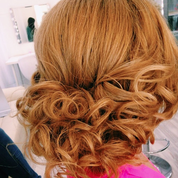 Wedding-hairstyle-with-curls Romantic Wedding Hairstyles for 2019