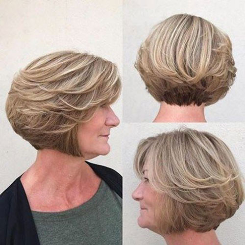 Women-Over-60-Short-Hair-Cuts Bob Haircuts for Older Women Chic Look