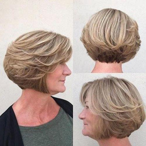 Women-Over-60-Short-Hair-Cuts Bob Haircuts for Older Women Chic Look