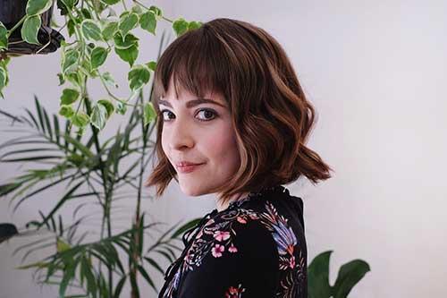 cute-easy-hairstyles-for-short-hair-3-1 Cute Easy Hairstyle Ideas for Short Hair