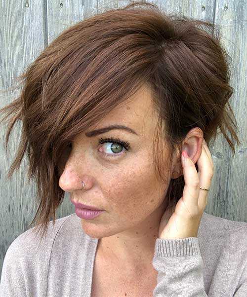 cute-easy-hairstyles-for-short-hair-3 Best Cute Short Haircuts 2019