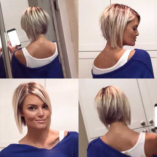 cute-easy-hairstyles-for-short-layered-hair Cute Easy Hairstyle Ideas for Short Hair