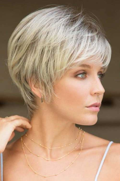 cute-easy-hairstyles-for-short-straight-hair-1 Cute Easy Hairstyle Ideas for Short Hair