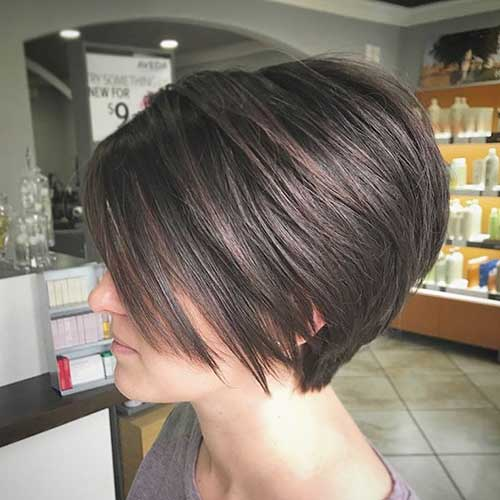 cute-easy-hairstyles-for-short-straight-hair Cute Easy Hairstyle Ideas for Short Hair