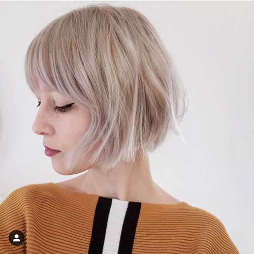 cute-easy-short-hairstyles-1 Cute Easy Hairstyle Ideas for Short Hair