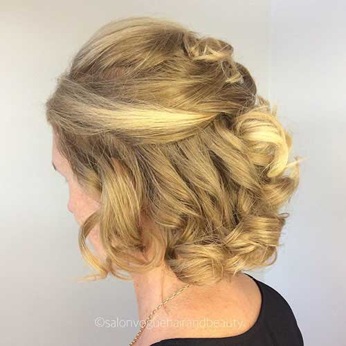 cute-updos-for-short-hair-1 Best Cute Short Haircuts 2019