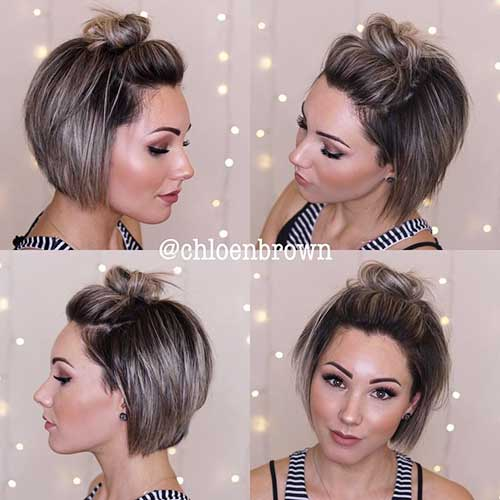 cute-updos-for-short-hair Best Cute Short Haircuts 2019