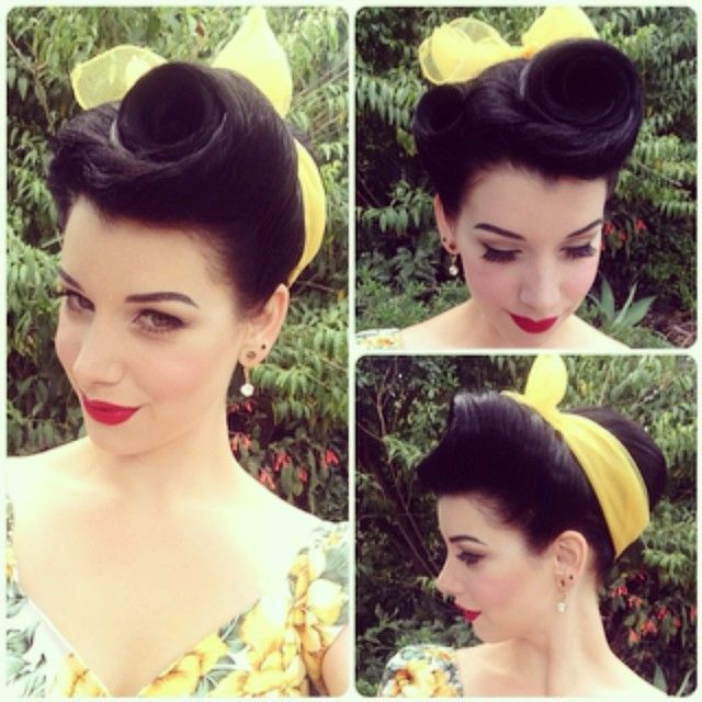 elegant-retro-hairstyles-for-women-vintage-hairstyles-3 Elegant Retro Hairstyles 2019 – Vintage Hairstyles for Women