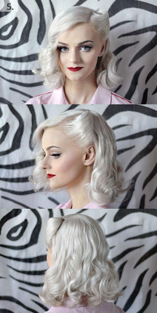 elegant-retro-hairstyles-for-women-vintage-hairstyles-4 Elegant Retro Hairstyles 2019 – Vintage Hairstyles for Women
