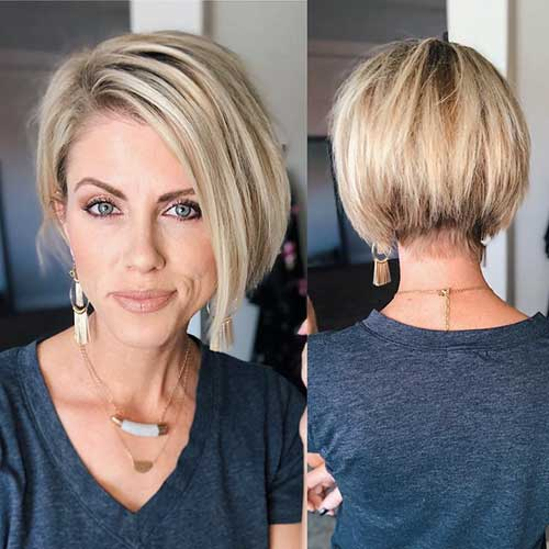 ladies-short-hairstyles Best Short Hairstyle Ideas 2019