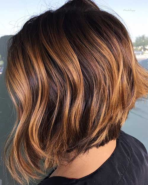 short-brown-hair Best Short Hairstyle Ideas 2019