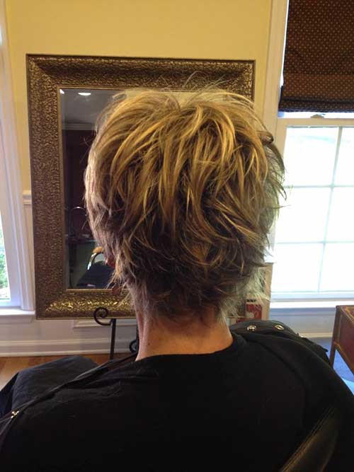 short-haircuts-for-women-over-50-back-view Back View Of Short Layered Haircuts
