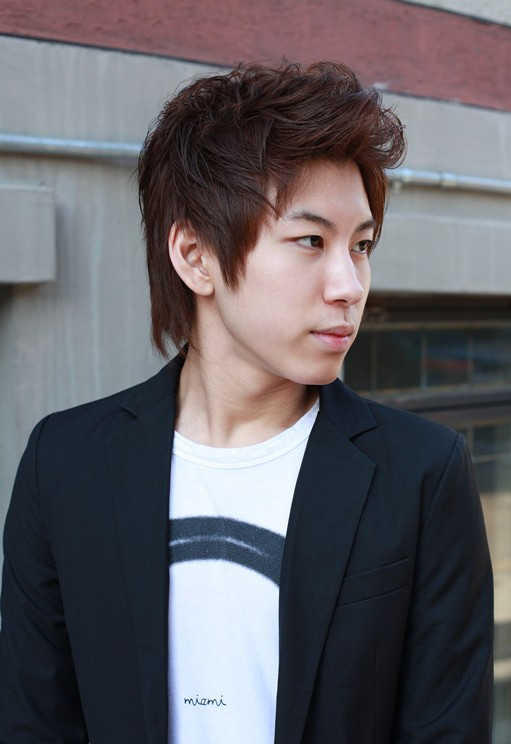Asian-Korean-Mens-hairstyles Cool Korean and Japanese Hairstyles for Asian Guys