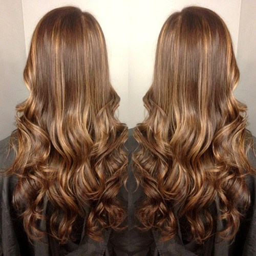 Blonde-Highlighted-Curls New Hairstyles and Hair Color Ideas for Fall