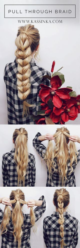 Blunt-Braid Hair Tutorials to Style Your Hair