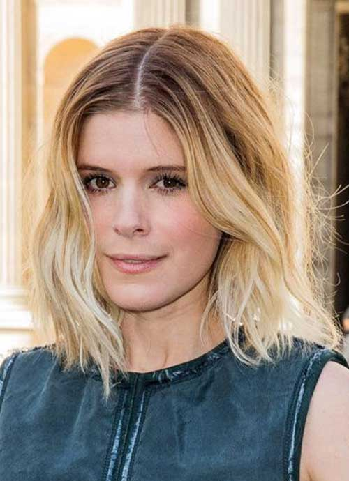Bob-Ombre-Hairstyle-for-Fine-Wavy-Hair New Bob Haircuts for Fine Hair