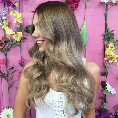 Bohemian-Waves Gorgeous Ways to Rock Blonde and Sliver Hair