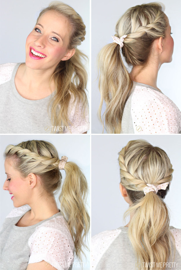Braided-Ponytail Hair Tutorials to Style Your Hair