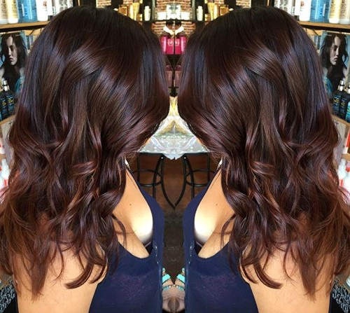 Chocolate-Brown-Hair New Hairstyles and Hair Color Ideas for Fall