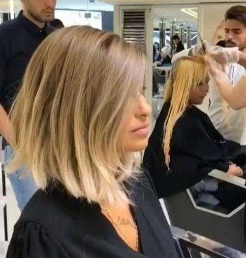 Choppy-Ends Short Hairstyles for Women Over 40 to Explore New Look
