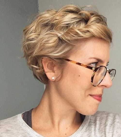 Curly-Short-Bob-Updo-Style Short Formal Hairstyles with Hottest Way