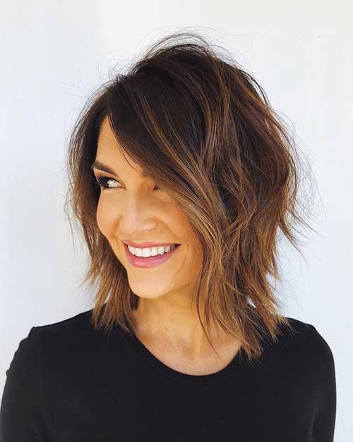 Cute-Layered-Hair Popular Short Layered Hairstyle Ideas