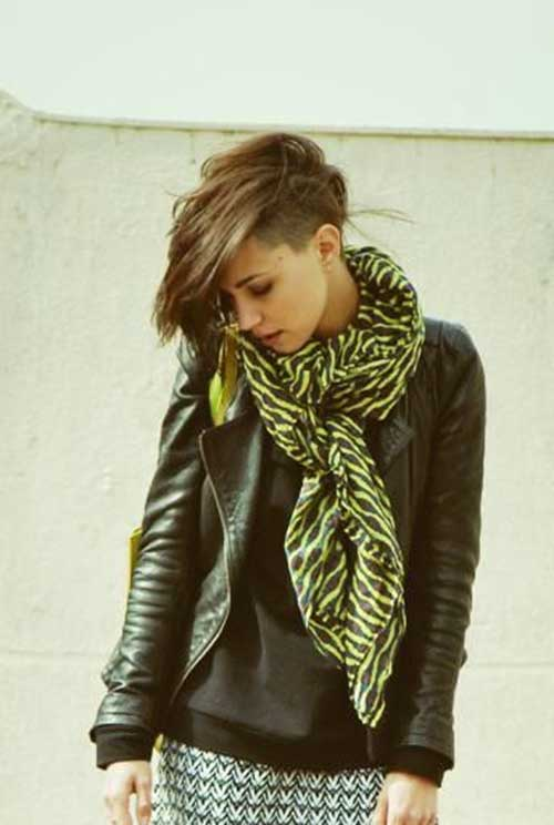 Cute-Trendy-Pixie-Cut-with-Long-Bangs-for-Girls Best Cute Girl Short Haircuts To Help You Out