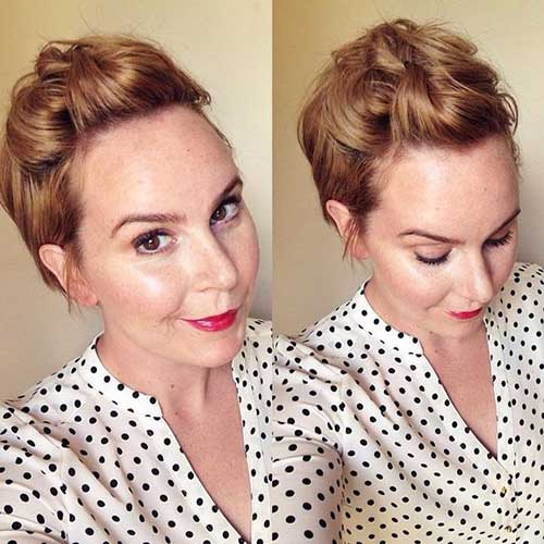 Easy-Hairstyle Short Formal Hairstyles with Hottest Way